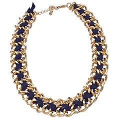 navy cluster necklace - Google Search