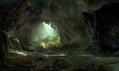 cave 2, HeeWann Kim on ArtStation at http://www.artstation.com/artwork/cave-2