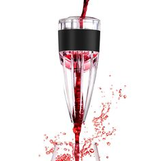 TURATA in Bottle Wine Aerator Pourer Aerating Decanter Fast Red Wine Breather Great for Wine Lovers