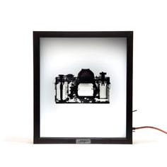 Mentalpieces X-Ray Lightbox // Vintage Canon SLR By Kelly Hoffman