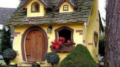 Cute House Houses Toy Small HD Desktop