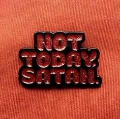 """""""Not today, Satan. Not today."""" Bianca Del Rio knows how you feel. Don't let anyone come for you until you call them with this..."""