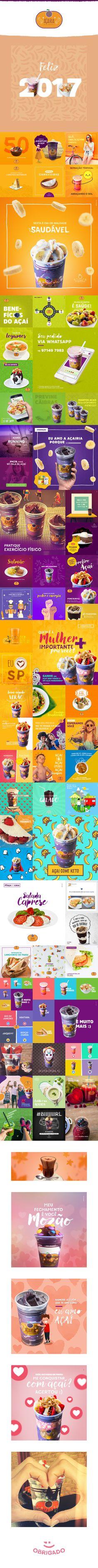 A Açairia é nosso cliente mais saudável e amor s2.A variedade no cardápio e nas cores proporcionam um layout criativo e delicioso. É de comer com o olhos, meus amigos.Nossa parceria é um sucesso e as avaliações da página não nos deixam mentir. São 5 d…