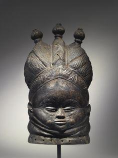 Mende Ndoli Jowei Helmet Mask, Sierra Leone | lot | Sotheby's