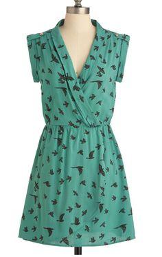 Spring Sparrow Dress