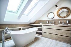 cozy eclectic bathroom