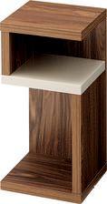 シェルフボックス型デザインでお洒落なサイドカフェテーブルです。