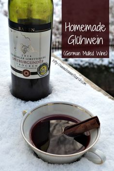 Homemade Glühwein Recipe