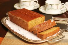 """Honey cake is often served during Rosh Hashanah because honey symbolizes wishes for """"sweet"""" things to come. The cake becomes moister and its flavors deepen a day or two after it's made. Best Honey Cake Recipe, Cake Recipes, Vegan Recipes, Peasant Food, Israeli Food, Israeli Recipes, Sweet Cakes, Banana Bread, Sweets"""