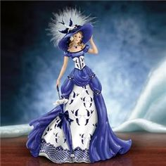 Thomas Kinkade Lady Figurines | NOW IN STOCK AND READY TO SHIP*