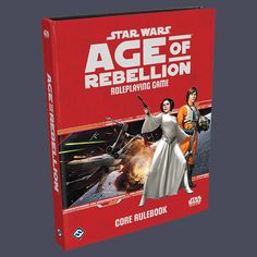 Star Wars: Age of Rebellion: Core Rulebook | Book cover and interior art for Star Wars RPG - Roleplaying Game, Role Playing Game, Living Card Game, LCG, d20, d6, Open Game License, OGL, Fantasy Flight Games, FFG, Fantasy Flight Publishing Inc. | Create your own roleplaying game books w/ RPG Bard: www.rpgbard.com | Not Trusty Sword art: click artwork for source