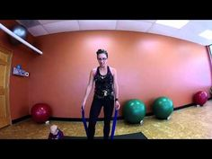 Resistance Band Upper Body Workout with Hope Zvara - YouTube