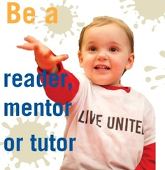 Invest in our future: be a volunteer reader, mentor or tutor. Learn more at unitedwayracine.org