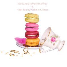 diy jewelry and high tea #thehaque #workshop #jewelry #diy #making #hightea