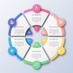 Free Infographic Templates, Circle Infographic, Powerpoint Design Templates, Professional Powerpoint Presentation, Diagram Design, Fitness Motivation, Instructional Design, Web Design, Flyer