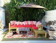 pallet garden furniture - Google Search