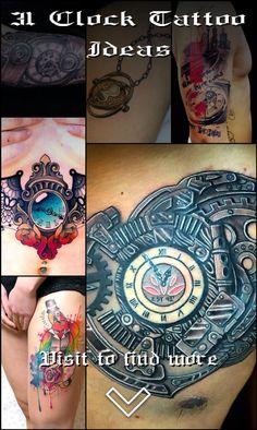 31 Clock Tattoo Ideas