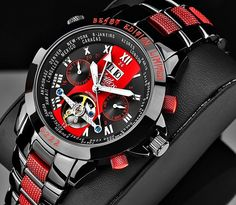 Zeitlos Exzellent Beast Carbonparts- Steel Band Limited Edition via Swiss Times. Click on the image to see more!