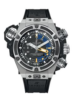 King Power Oceanographic 1000 Titanium 48mm Diver watch from Hublot