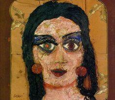 Obra de Berni - La madre de Ramona, 1962.