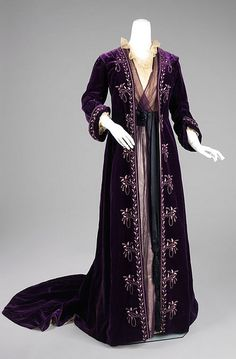 1905, house of worth, tea gown
