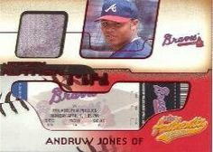 2002 Fleer Authentix Jersey AuthenTIX #JAAJ Andruw Jones SP Jsy by Fleer Authentix. $8.20. 2002 Fleer Inc. trading card in near mint/mint condition, authenticated by Seller