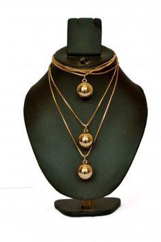 New Fashion Jewellery Pearl Pendant Golden Chain Neckpiece #womensfashion #womensaccessories #jewellery #neckpiece #pearlpendantchain #goldenneckpiece #latestneckpiece