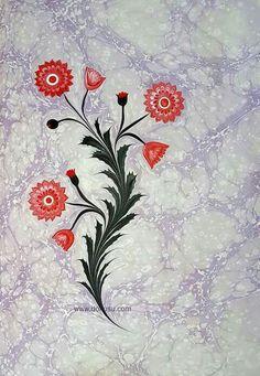 Ebru Ebru Art, Paper Marbling, Earth Pigments, Turkish Art, Marble Art, Horse Hair, Water Crafts, Medium Art, Islamic Art