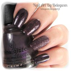 Nail Art by Belegwen: China Glaze Jungle Queen and Rendezvous With You, Essence Time For Romance and Golden rose 58