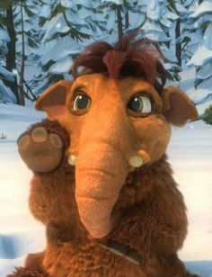 Baby Peaches from the Ice Age movies :) Isn't she cute?