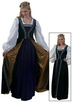 e80fd2108a1a Plus Size Robe du Soir Renaissance Costume