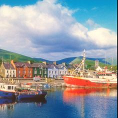 Dingle town, Ireland