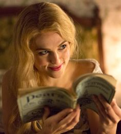 Katie Mcgrath stars as Lucy Westenra in the Sky Living/NBC TV series, Dracula - sky.com/dracula