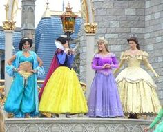Where to Find Disney Princesses at Walt Disney World Resort and Theme Parks in Orlando, Florida