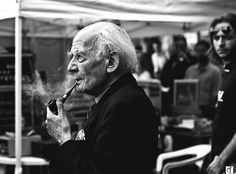 """Zygmunt Bauman, Polish sociologist, one of the creators of the concept of """"postmodernism"""""""