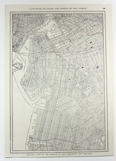 1914 Brooklyn, NY Antique Map