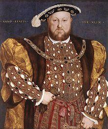 Catalina de Aragón. Espisa de Enrique VIII // Retrato de Enrique VIII por Hans Holbein el Joven hacia 1540