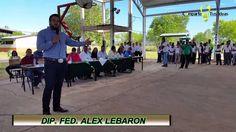 MENSAJE DEL DIP. ALEX LEBARON EN BUENAVENTURA