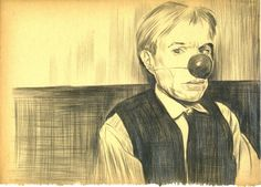 Buy WARHOL, a Pencil on Paper by Mehmet Dere from Turkey. It portrays: Pop Culture/Celebrity, relevant to: pop, victim, Popart, contemprary art, andy warhol, intresting, drawing, art I like boring things.  Andy Warhol  Mehmet dere's installation titled Papercut is composed of 65 drawings which aim to show a process rather than focusing on a specific topic. The work originates from a notebook he found in Turkey, which contained a person's handwritings while studying French. Dere w...