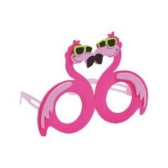 Tropical Flamingo Kids' Glasses Craft Kit -  Party Supplies, Ideas, Accessories, Decorations, Games - PartyNet