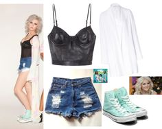 """Perrie Edwards"" by iloveyoutothemoonandback ❤ liked on Polyvore"