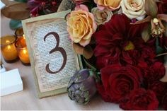 Book pages table names or numbers  #fullcircleeventi