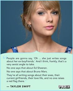 Yes! That's all I ever hear is people making fun of this talented, sweet girl. Sexist morons.