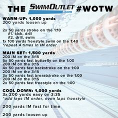 Workout of the week Swimming Drills, Swimming Memes, Competitive Swimming, Swimming Tips, Swimming Workouts, Swimming Program, Swimming Fitness, Swimming Sport, Workouts For Swimmers
