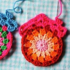"Crochet For Children: Make it! Granny circle ""home sweet home"" !!!"