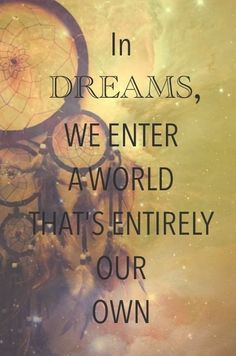 Beautiful dreamcather quote!