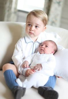 Pics of the Newest Royal, Princess Charlotte! | Totally Love It
