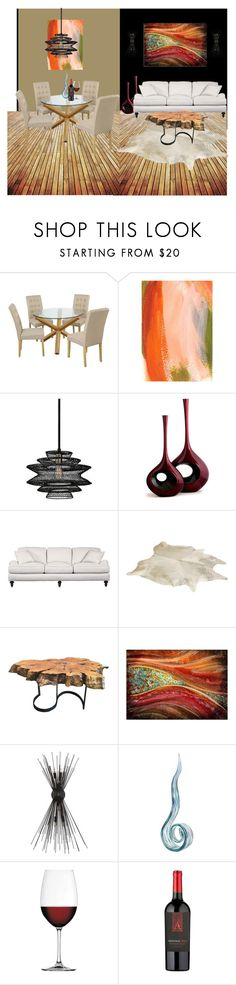"""""""home"""" by daizysheila ❤ liked on Polyvore featuring interior, interiors, interior design, home, home decor, interior decorating, Troy, DutchCrafters, Kelly Wearstler and Nachtmann"""