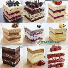 VK is the largest European social network with more than 100 million active users. Praline Chocolate, Chocolate Cheesecake, Chocolate Truffles, Frosting Recipes, Cake Recipes, Dessert Recipes, Cooking Time, Cooking Recipes, Inside Cake
