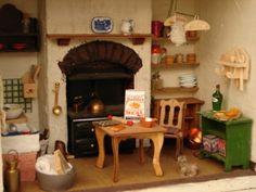 Doll's house kitchen